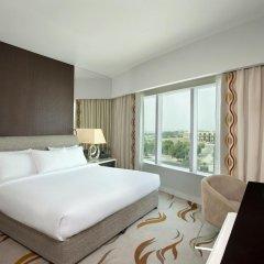 Отель Hilton Capital Grand Abu Dhabi 5* Представительский люкс с различными типами кроватей фото 5
