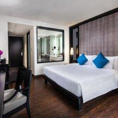 Mövenpick Hotel Sukhumvit 15 Bangkok 4* Номер Делюкс с различными типами кроватей фото 2