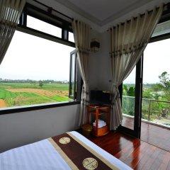 Отель Gia Field Homestay Номер Делюкс с различными типами кроватей