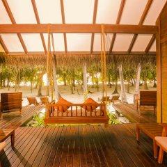Отель Medhufushi Island Resort 4* Вилла с различными типами кроватей фото 6