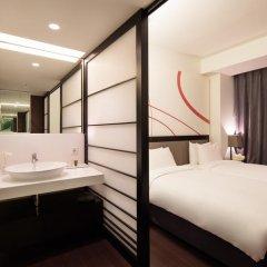 Отель Mercure Ambassador Seoul Gangnam Sodowe 4* Стандартный номер с различными типами кроватей фото 6