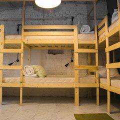 АРТ хостел Культура Кровать в общем номере с двухъярусными кроватями фото 2