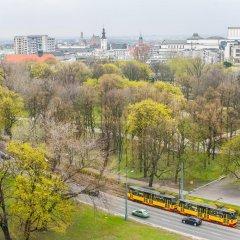 Отель Apartament Przechodnia Варшава приотельная территория
