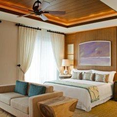 Отель The St. Regis Saadiyat Island Resort, Abu Dhabi 5* Улучшенный номер с различными типами кроватей фото 2