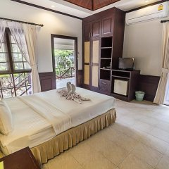 Отель Coco Palm Beach Resort 3* Улучшенное бунгало с различными типами кроватей фото 4
