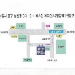 Отель Vestin Residence Myeongdong с домашними животными