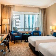 Отель Towers Rotana Номер Делюкс с различными типами кроватей фото 3