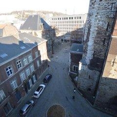 Отель Amosa Liège 3* Апартаменты с 2 отдельными кроватями