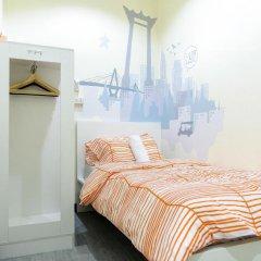 I-Sleep Silom Hostel Номер Делюкс с различными типами кроватей фото 7