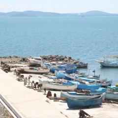 Отель Helios Болгария, Поморие - отзывы, цены и фото номеров - забронировать отель Helios онлайн пляж фото 2