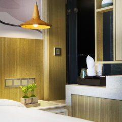 Paco Hotel Guangzhou Gangding Metro Branch 4* Стандартный номер с различными типами кроватей фото 4