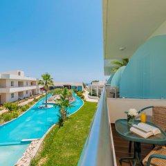 Отель Afandou Bay Resort Suites 5* Люкс с различными типами кроватей фото 3