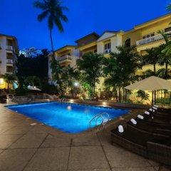 Отель Sandalwood Hotel & Retreat Индия, Гоа - отзывы, цены и фото номеров - забронировать отель Sandalwood Hotel & Retreat онлайн бассейн фото 3