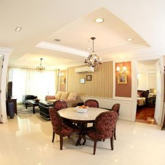 Апартаменты Central Bangkok 2+1 Bedroom Apartment on Soi 18 Бангкок питание фото 3