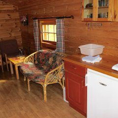 Отель Skysstasjonen Cottages Стандартный номер с различными типами кроватей