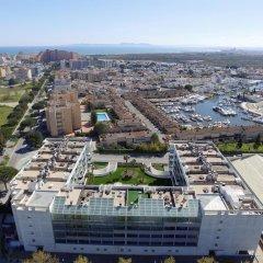 Отель Apartamentos Porto Mar Испания, Курорт Росес - отзывы, цены и фото номеров - забронировать отель Apartamentos Porto Mar онлайн балкон