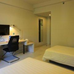 Отель Jinjiang Inn Tianjin Heping Anshandao 2* Стандартный номер с различными типами кроватей фото 14
