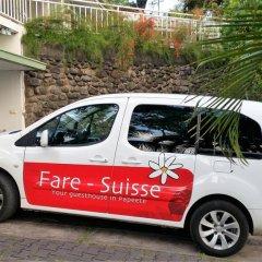 Отель Fare Suisse Tahiti Французская Полинезия, Папеэте - отзывы, цены и фото номеров - забронировать отель Fare Suisse Tahiti онлайн городской автобус