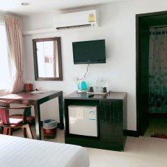 Отель Silver Resortel Номер Эконом с двуспальной кроватью фото 4