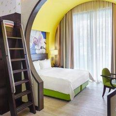 Resorts World Sentosa - Festive Hotel 5* Семейный номер Делюкс с двуспальной кроватью фото 4