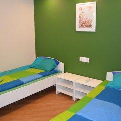 Hostel Nochleg Кровать в общем номере с двухъярусной кроватью фото 23