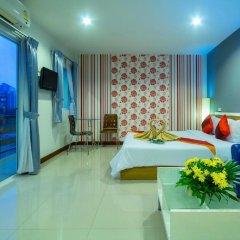 Отель Sea Breeze Jomtien Residence 3* Номер Делюкс с различными типами кроватей