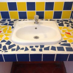 Отель La Casa De Cafe Копан-Руинас ванная