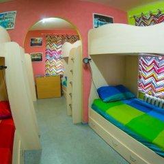 Хостел Гуд Лак Кровать в общем номере фото 14
