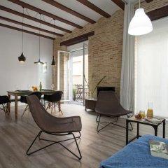 Отель Quart Apartment Испания, Валенсия - отзывы, цены и фото номеров - забронировать отель Quart Apartment онлайн комната для гостей фото 5