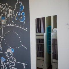 Хостел География Казань Кровать в общем номере двухъярусные кровати фото 28