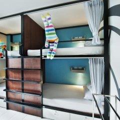 At nights Hostel Кровать в женском общем номере с двухъярусными кроватями фото 2
