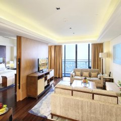 Xiamen International Conference Hotel 5* Президентский люкс с различными типами кроватей фото 2