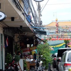 Zen Hostel Mahannop Бангкок парковка