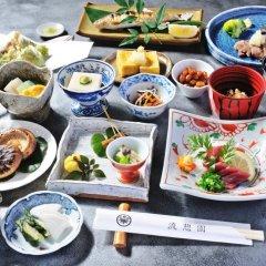 Отель Ryukeien Япония, Минамиогуни - отзывы, цены и фото номеров - забронировать отель Ryukeien онлайн питание фото 2