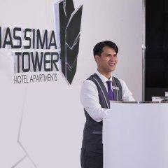 Nassima Tower Hotel Apartments интерьер отеля