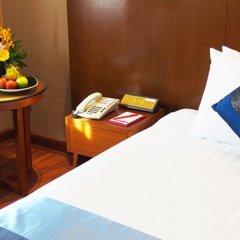 Отель Ramada Plaza by Wyndham Bangkok Menam Riverside 5* Номер Делюкс с двуспальной кроватью фото 17