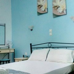 Galini Hotel Стандартный номер с различными типами кроватей фото 7