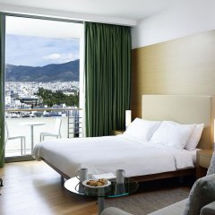 Отель Hilton Athens 5* Стандартный номер разные типы кроватей фото 5