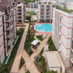 Apartment in Tarsis Hotel & Spa Солнечный берег балкон