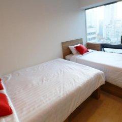 Отель STEP INN Myeongdong 1 3* Стандартный номер с различными типами кроватей фото 9