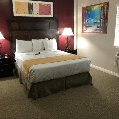Отель Knights Inn Los Angeles Central / Convention Center Area 2* Стандартный номер с различными типами кроватей фото 10