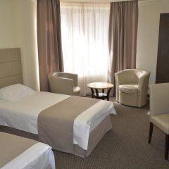 Отель Aviatrans 4* Семейный номер Делюкс с двуспальной кроватью фото 7