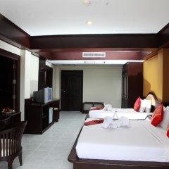Samui First House Hotel 3* Стандартный семейный номер с различными типами кроватей фото 5