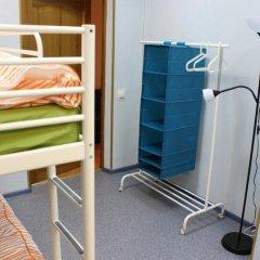 Гостиница Аэрохостел Кровать в общем номере с двухъярусными кроватями фото 7