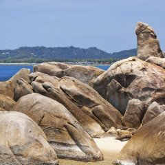Отель Villa Sea View Таиланд, Самуи - отзывы, цены и фото номеров - забронировать отель Villa Sea View онлайн пляж