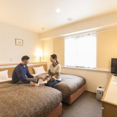 Отель Nishitetsu Inn Tenjin 3* Улучшенный номер фото 4