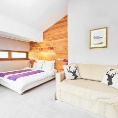 Гостевой дом Резиденция Парк Шале Номер Делюкс с двуспальной кроватью фото 5