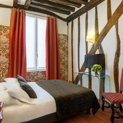 Отель Hôtel Saint Paul Rive Gauche 4* Стандартный номер с различными типами кроватей фото 2