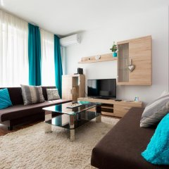 Апартаменты Sun Resort Apartments Улучшенные апартаменты с 2 отдельными кроватями фото 9