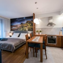 Отель EXCLUSIVE Aparthotel Улучшенные апартаменты с 2 отдельными кроватями фото 17